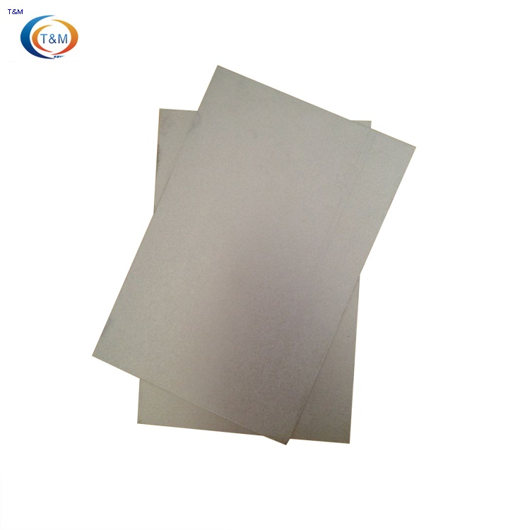 pure tungsten plate sheet in stock