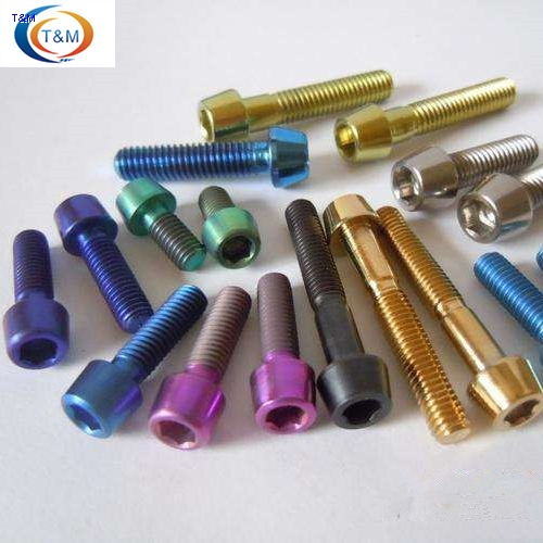 anodized titanium bolts for bicycle-T&M Tech Metal Co ,Ltd